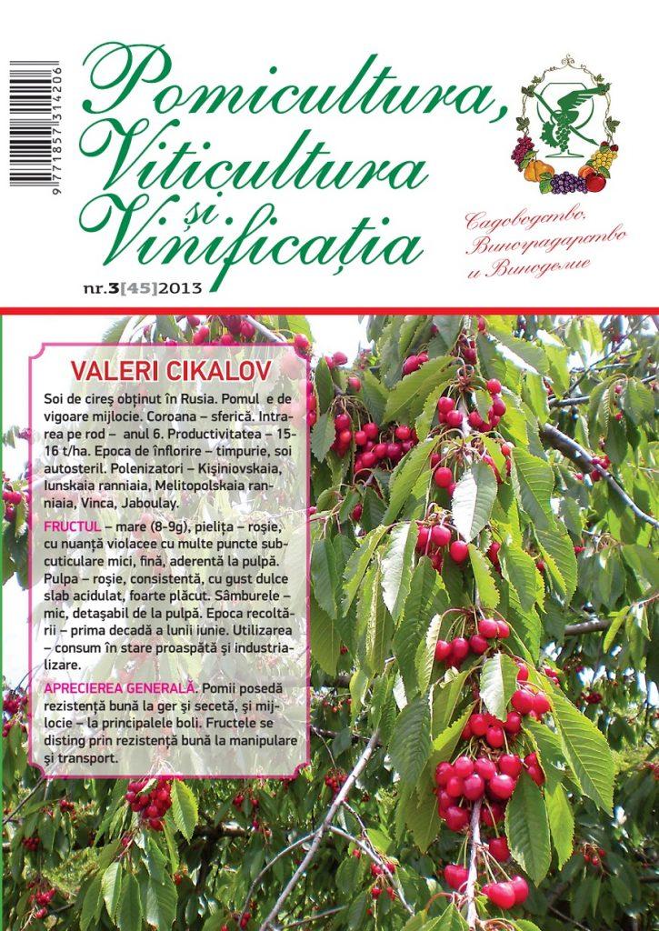 Articole despre Pomicultură, Viticultură și Vinificație